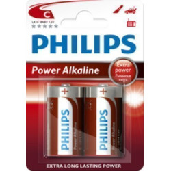 PILAS PHILIPS LR14 SUPER...